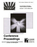 Technology 2002  The Third National Technology Transfer Conference and Exposition  Volume 2 Book