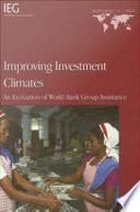 Improving Investment Climates