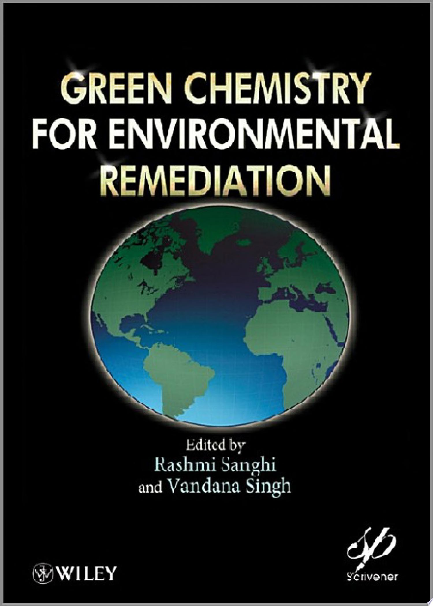 Green Chemistry for Environmental Remediation