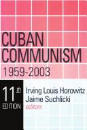 Cuban Communism Pdf/ePub eBook