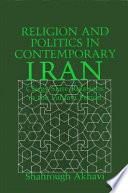 Religion and Politics in Contemporary Iran