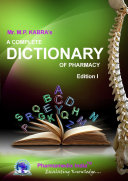 A COMPLETE DICTIONARY OF PHARMACY
