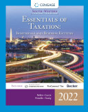South Western Federal Taxation 2022  Essentials of Taxation  Individuals and Business Entities