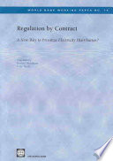 Regulation By Contract Book PDF