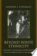Download Beyond White Ethnicity Pdf