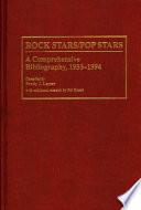 Rock Stars/pop Stars