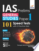 Ias Prelims General Studies Paper 1 101 Speed Tests With 5 Practice Sets 4th Edition