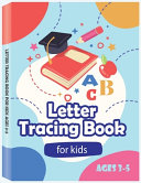 Letter Tracing Book for Kids Ages 3 5   Preschool Handwriting Workbook