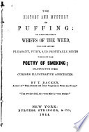 The History And Mystery Of Puffing