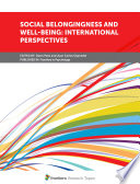 Social Belongingness And Well Being International Perspectives