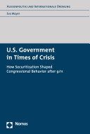 U S  Government in Times of Crisis
