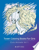 Tween Coloring Books for Girls
