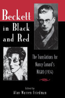 Pdf Beckett in Black and Red Telecharger