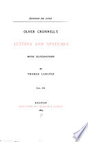 Oliver Cromwell's letters and speeches with elucidations. Early kings of Norway