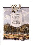 Blue Book of Canning and Preserving Recipes Book