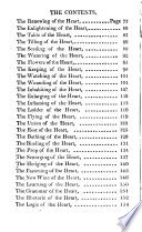 The school of the heart, or The heart of itself gone away from God brought back again to him and instructed by him, by Francis Quarles [really by C. Harvey. Adapted from B. van Haeften's Schola cordis]. To which is added, The learning of the heart by the same author [really by C. Harvey. Ed. by C.E. De Coetlogon. Issued as vol. 2 of Emblems divine and moral, by F. Quarles. Wanting the title-leaf and plates].