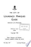 The City of Lourenço Marques Guide