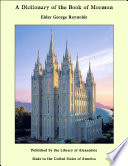 A Dictionary of the Book of Mormon
