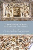 The Psalms Of Solomon