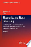 Electronics and Signal Processing