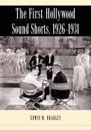 Pdf The First Hollywood Sound Shorts, 1926Ð1931