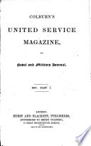 Colburn's United Service Magazine and Naval and Military Journal