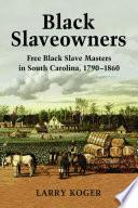 Black Slaveowners Book PDF