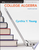 College Algebra  Loose Leaf Print Companion