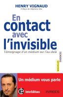 Pdf En contact avec l'invisible Telecharger
