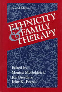 Ethnicity and Family Therapy, Second Edition