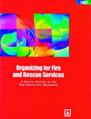 Pdf Organizing for Fire and Rescue Services