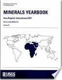 Minerals Yearbook V 3 Area Reports International Review