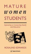 Mature Women Students
