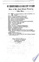 Parthenopoeia  or the history of the     kingdom of Naples     The first part by S  M   made English by S  Lennard  The second part compil d by James Howell  etc