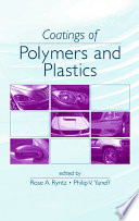 Coatings Of Polymers And Plastics Book PDF