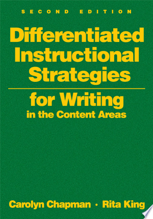 Download Differentiated Instructional Strategies for Writing in the Content Areas Free Books - Dlebooks.net
