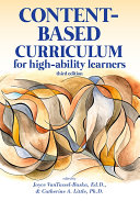 Content-Based Curriculum for High-Ability Learners Pdf