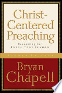 Christ Centered Preaching