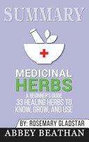 Summary: Medicinal Herbs