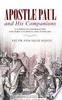 Apostle Paul And His Companions