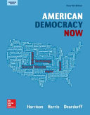 Harrison, American Democracy Now, Reinforced Binding