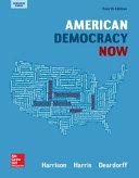 Harrison  American Democracy Now  Reinforced Binding