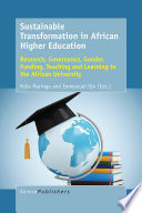 Sustainable Transformation in African Higher Education