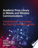 Academic Press Library in Mobile and Wireless Communications Book