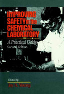 Improving Safety in the Chemical Laboratory Book