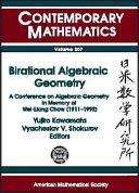 Birational Algebraic Geometry