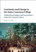 Continuity and Change in the Native American Village: Multicultural ...