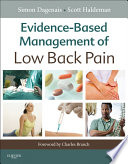 Evidence based Management of Low Back Pain Book