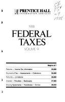 Prentice Hall Federal Taxes Book