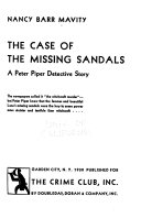 The Case of the Missing Sandals